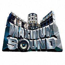 MaximumSound logo grey